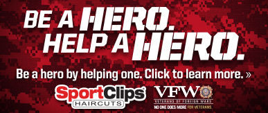 Sport Clips Haircuts of Murfreesboro - Towne Centre ​ Help a Hero Campaign